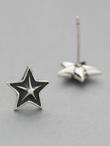 Vintage Style Star Shaped cuff earring