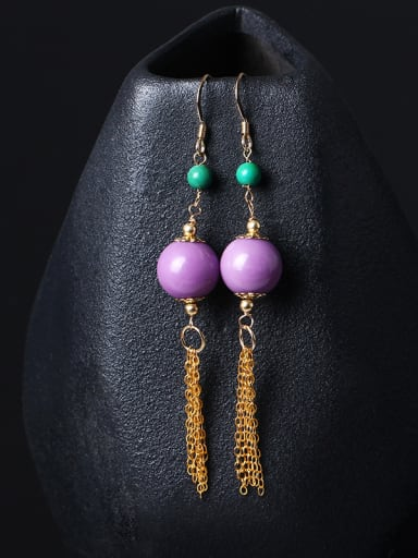 Fashion Temperament Tassel Drop Earrings