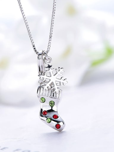 Sock-shaped Necklace