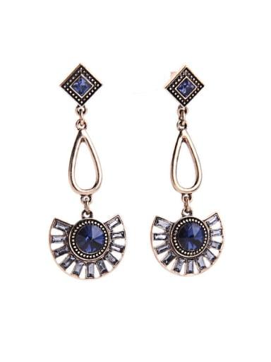 Rretro Fan-shaped drop earring