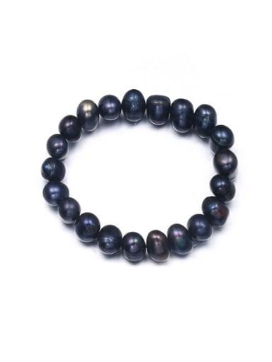 Creative Black Freshwater Pearl Handmade Bracelet