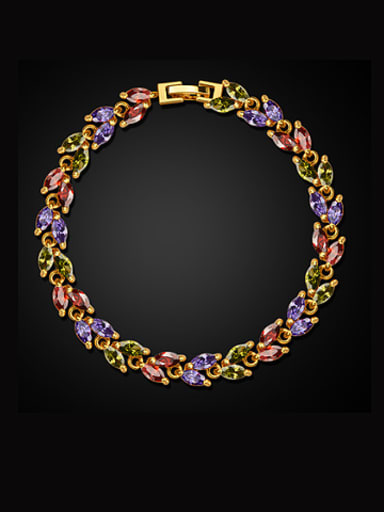Fashion Multicolor Zircon Bracelet
