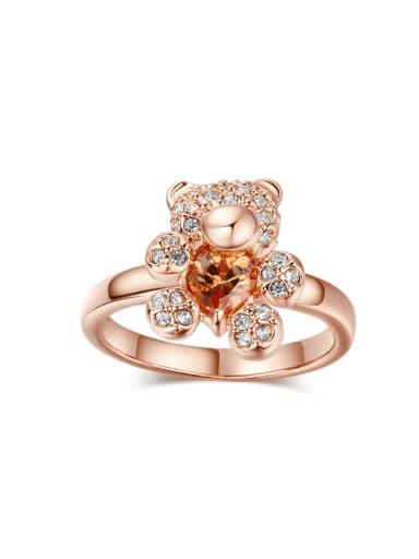 Lovely Bear-shape Fashionable Women Ring