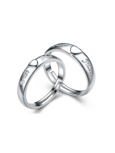 Valentine's Day Gifts Lovers Opening Ring