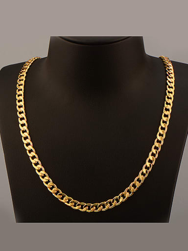 2018 2018 2018 18K Fashion Colorfast Necklace