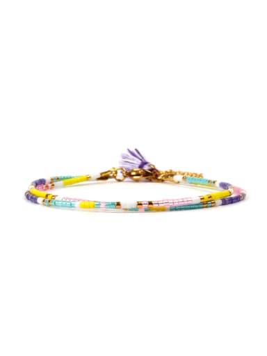 Nationality Retro Style Colorful Bracelet
