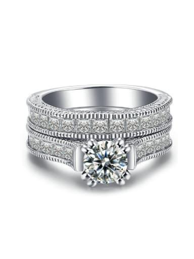 Wedding Luxury Unisex Western Style Ring