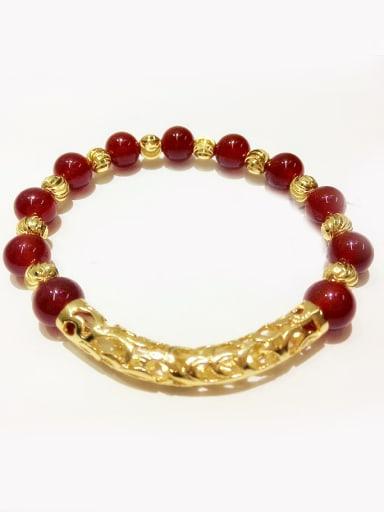 Women Exquisite Red Crystal Bracelet
