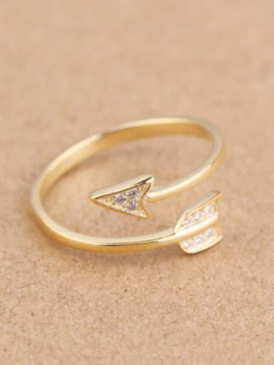 Fashion Arrow Opening Midi Ring