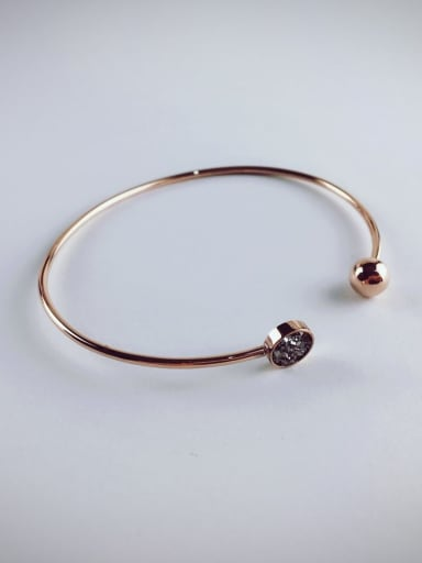 2018 Rose Gold Plated Opening Bangle