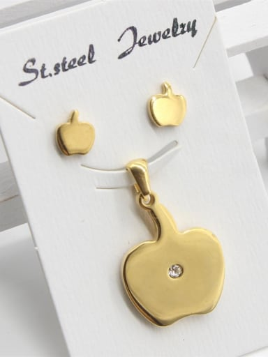 Golden Apple Shape Two Pieces