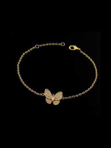 2018 Butterfly Copper Bracelet