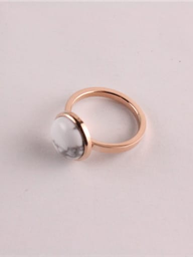 White Stone Fashion Simple Ring