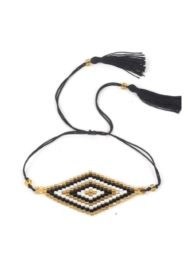 Diamond Shaped Accessories Colorful Women Bracelet