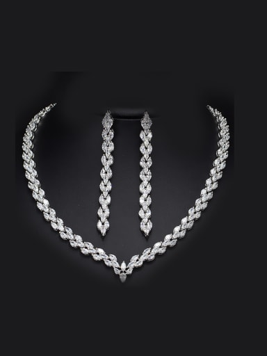 Luxury Personality Party Two Pieces Jewelry Set