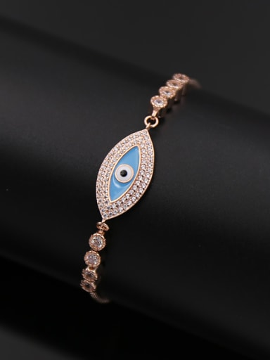 Eye-shape Stretch Bracelet