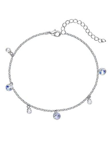2018 S925 Silver Swarovski Crystal Bracelet