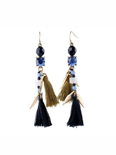 Alloy Fashion Generous Tassel drop earring