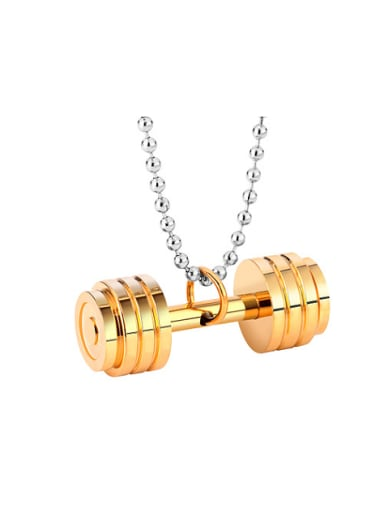 Fashion Dumbbell Necklace
