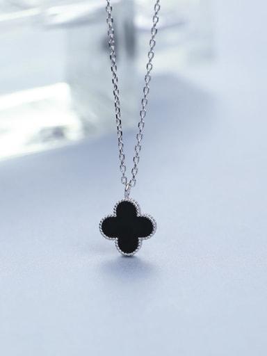 2018 Black Clover Necklace
