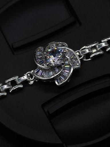 Flower-shape Copper Bracelet