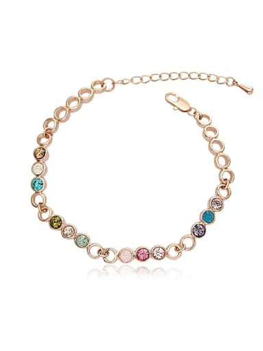 Fashion Dot Crystal Bracelet