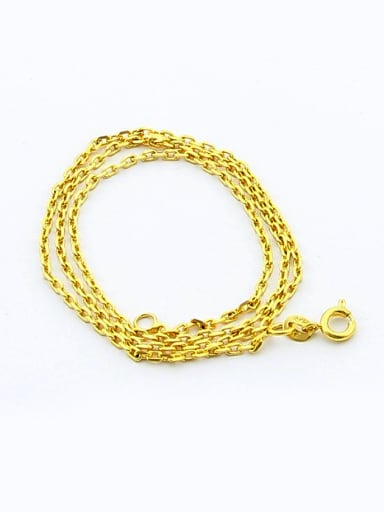 Women Simply Style 24K Gold Plated Geometric Shaped Necklace