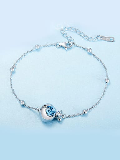 925  Silver Fish-shaped Bracelet