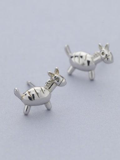 Cute Donkey Shaped Stud Earrings