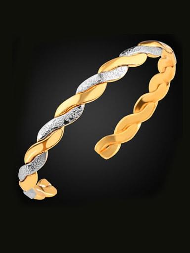 Fashion Bicolored Woven Bracelet