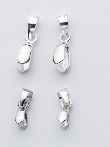 925 Sterling Silver With Silver Plated Classic Bails