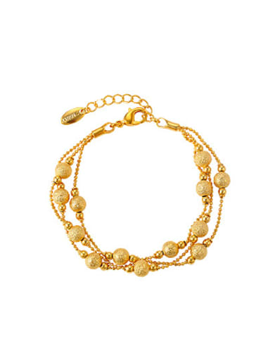 Retro Multi-layers Beads Women Bracelet