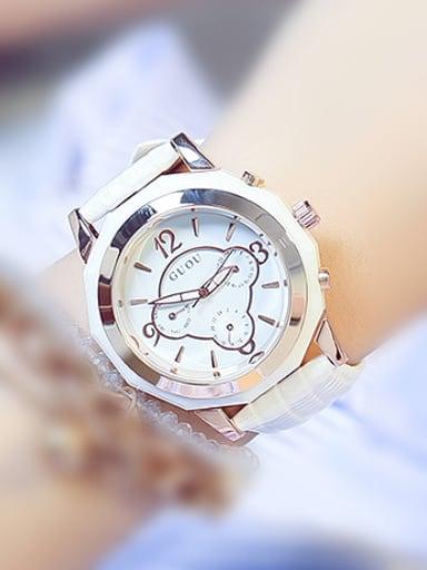 GUOU Brand Fashion Chronograph Women Watch