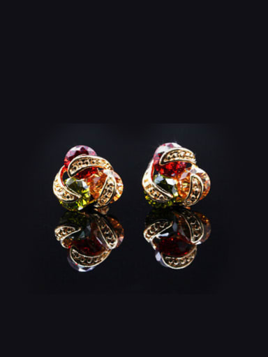 Lovely Gold Plated stud Earring