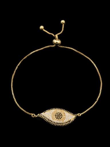 Eye Shape Stretch Bracelet