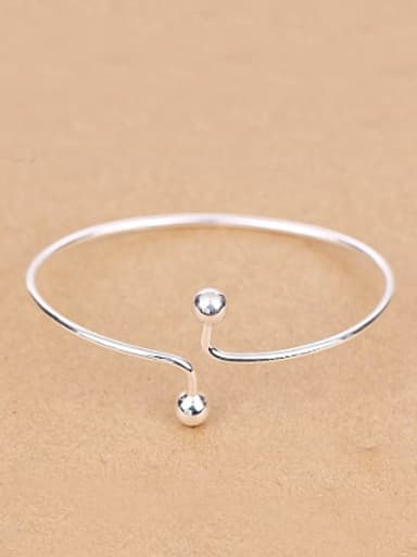 Simple Little Beads Opening Ring
