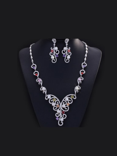 Exaggerate Party Accessories Two Pieces Jewelry Set