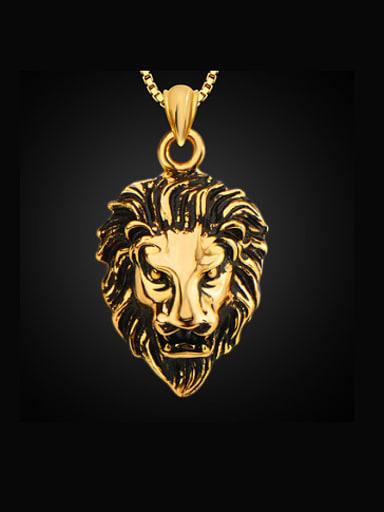 Fashion Lion Head Necklace