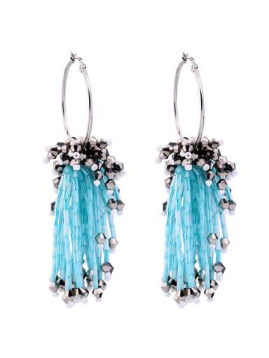 Creative Personality Tassel Women Drop Earrings