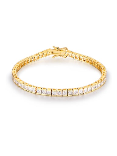 2018 Gold Plated Zircon Bracelet