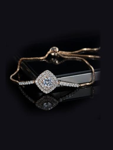 Exquisite Simple Copper Stretch Bracelet