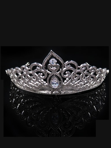 Classical and Noble Wedding Hair Accessories Copper Material