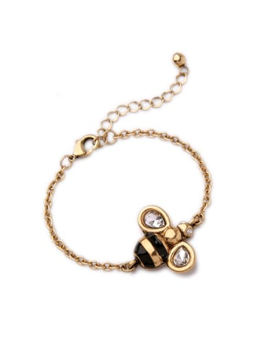 Small Bee Shaped Alloy Bracelet