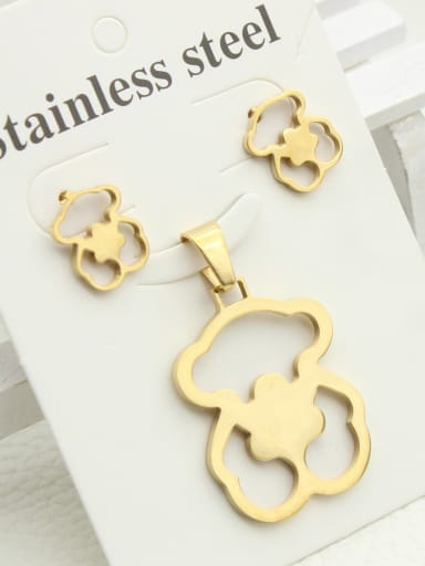 Bear-shape Women Pendant Necklace