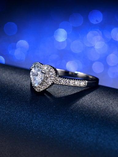 Luxury Heart-shape Engagement Ring