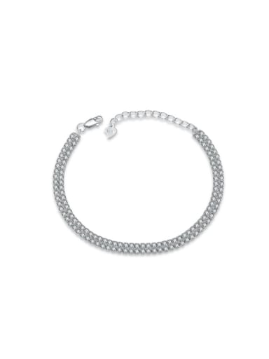 High Quality Classical Double Lines Fashion Anklet