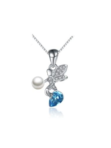 Freshwater Pearl Angel Wedding Accessories Women Pendant