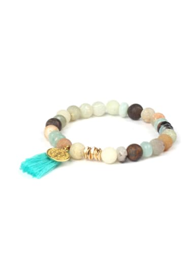Tassel Accessories Natural Stones Fashion Bracelet