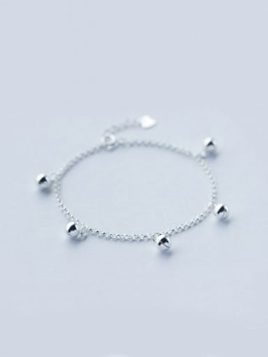 S925 Silver Little Bells Fashion Anklet
