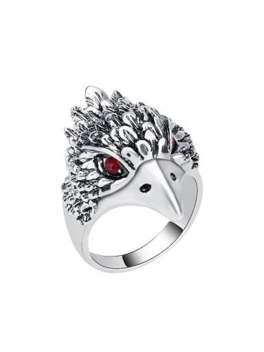 Retro style Personalized Eagle Rhinestones Ring